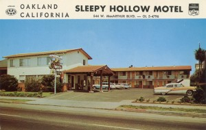Sleepy Hollow Motel, 544 W. MacArthur Blvd., Oakland, California